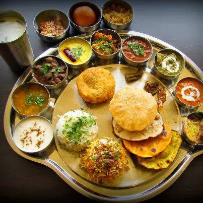 North-indian-Rajasthani-thali