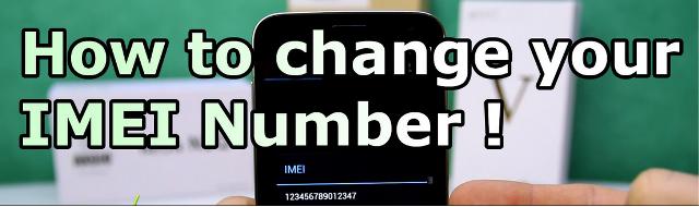 IMEI changer