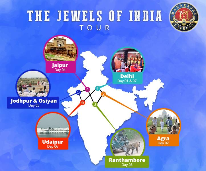 Explore Regal Rajasthan with Jewels of India Luxury Train Package