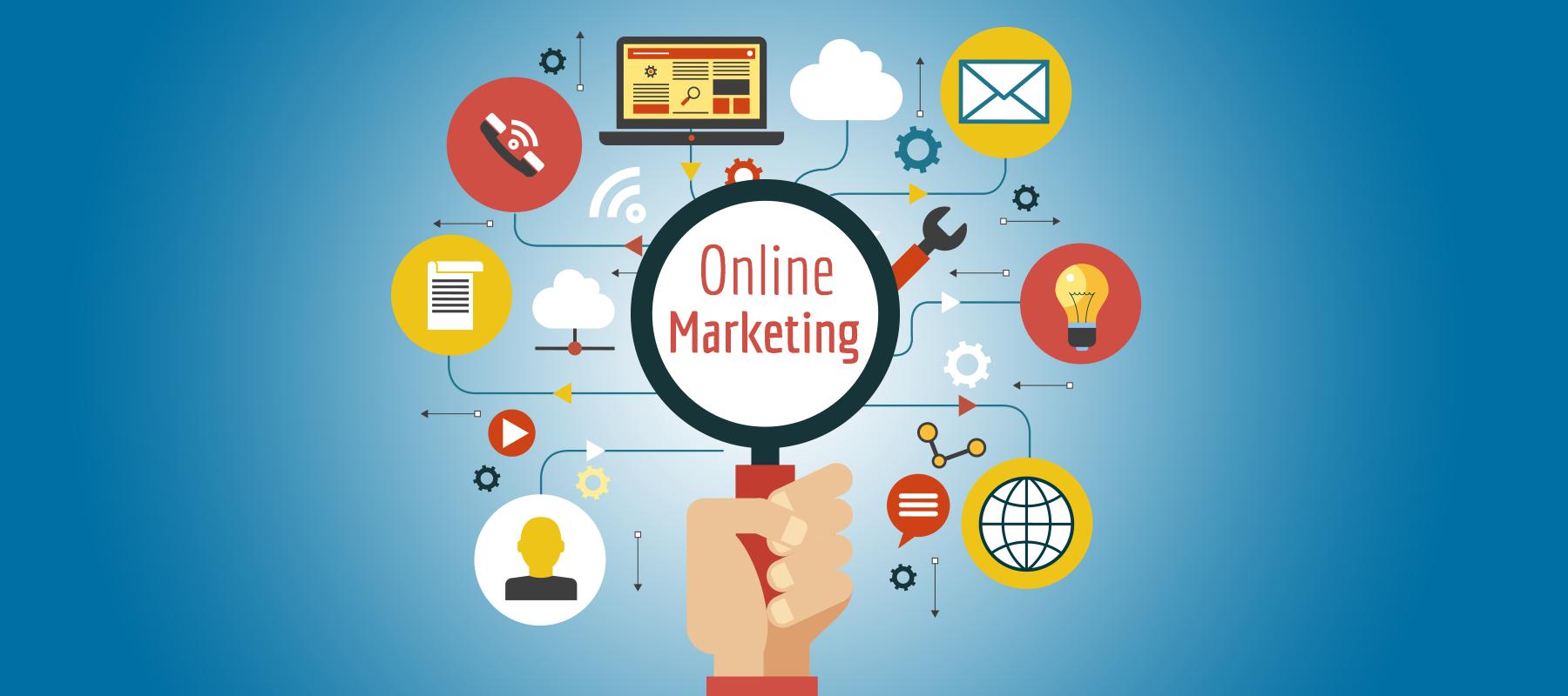 Image result for On-Line Marketing
