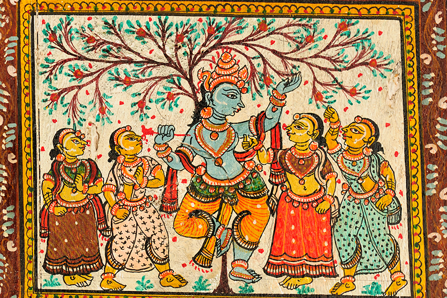 Adorn Your Home With Cloth Based Scroll Painting Pattachitra