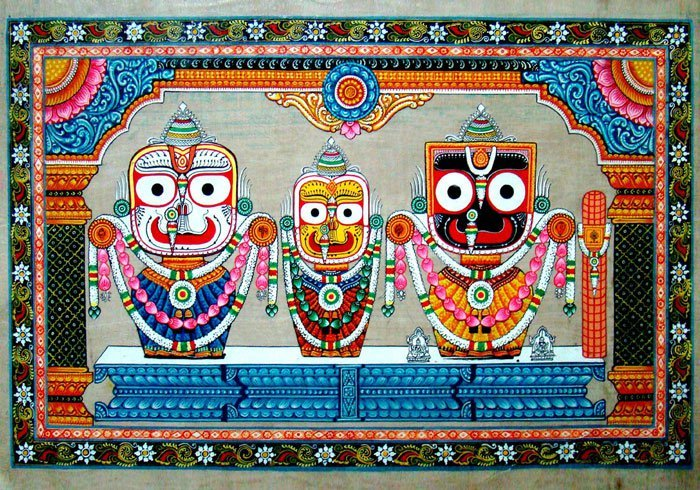 Adorn your home with cloth-based scroll painting: Pattachitra