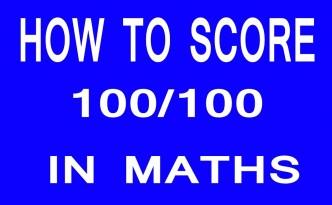 score 100 marks