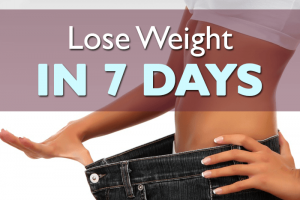 lost weight in 7 days