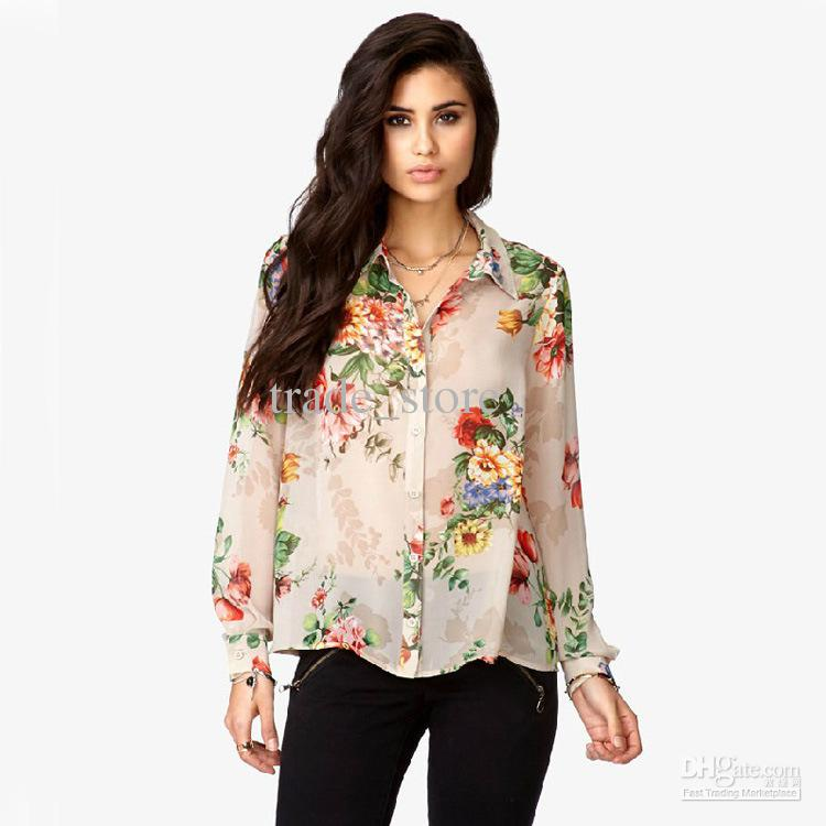 Printed Tops for Women
