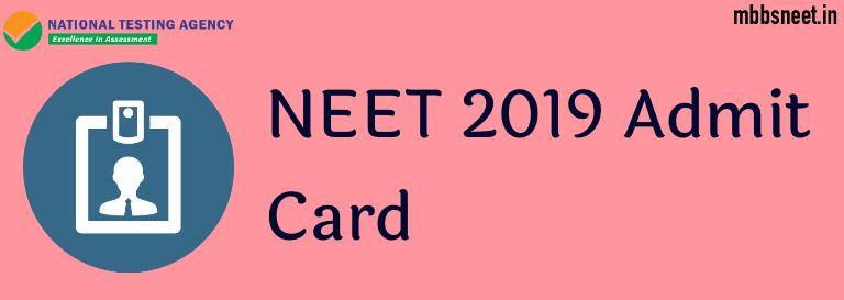 NEET-Admit-Card-2019