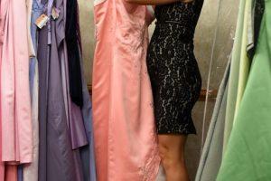 accessorise an evening dress