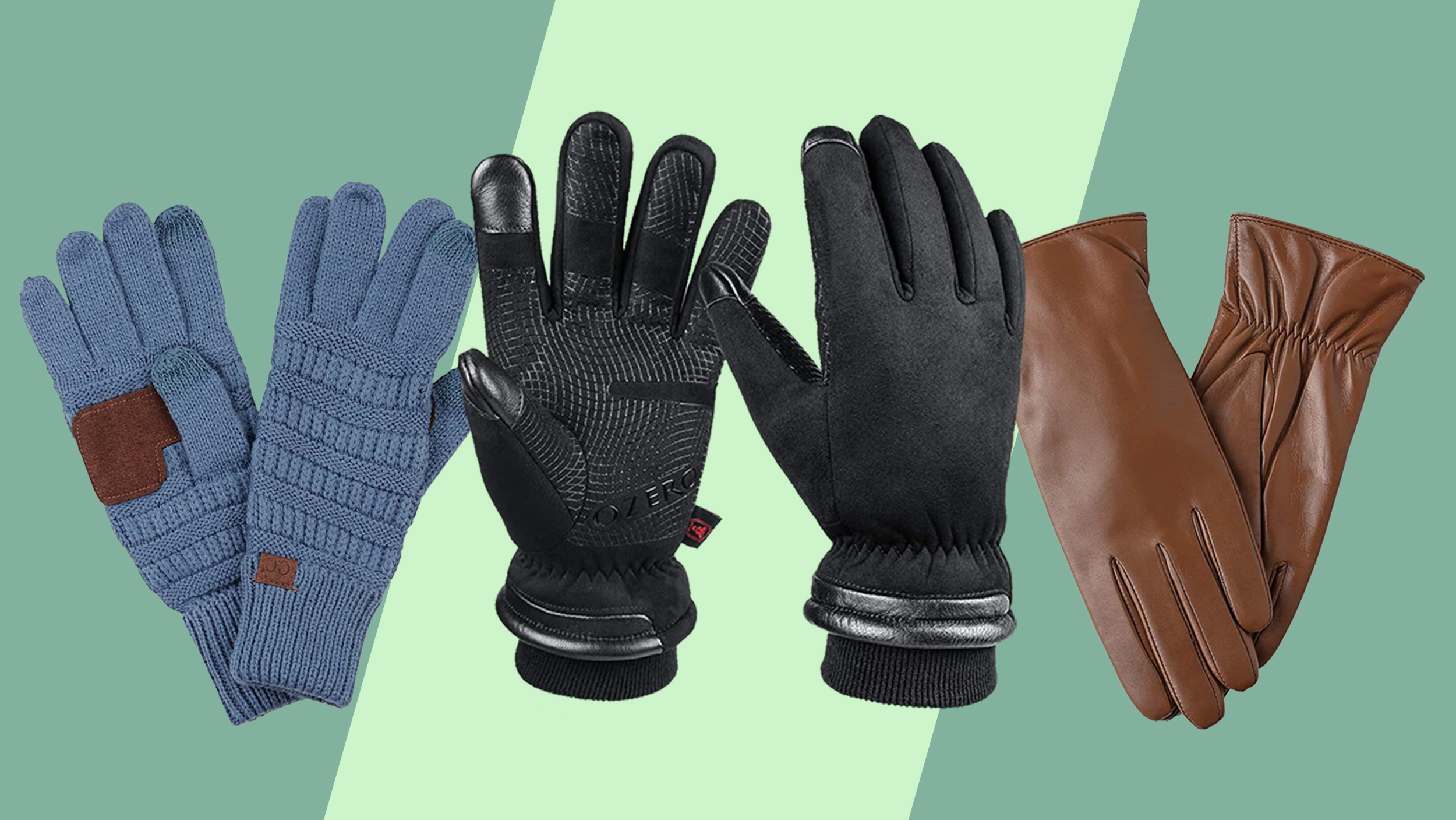 Which type of gloves is preferable in winters?